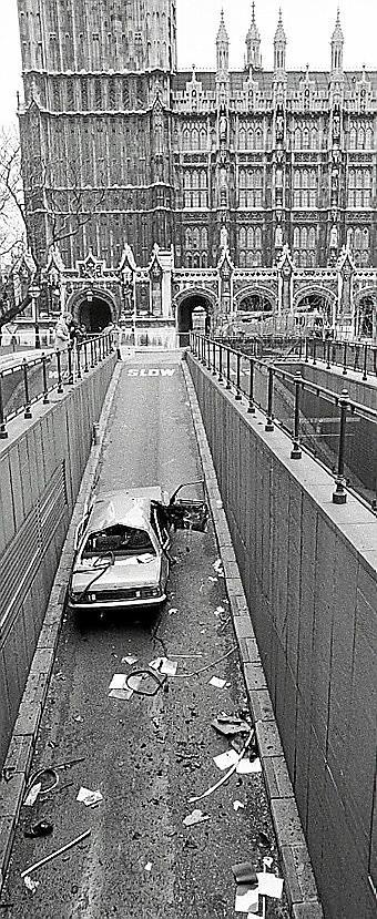 Atentado terrorista en Londres en 1979