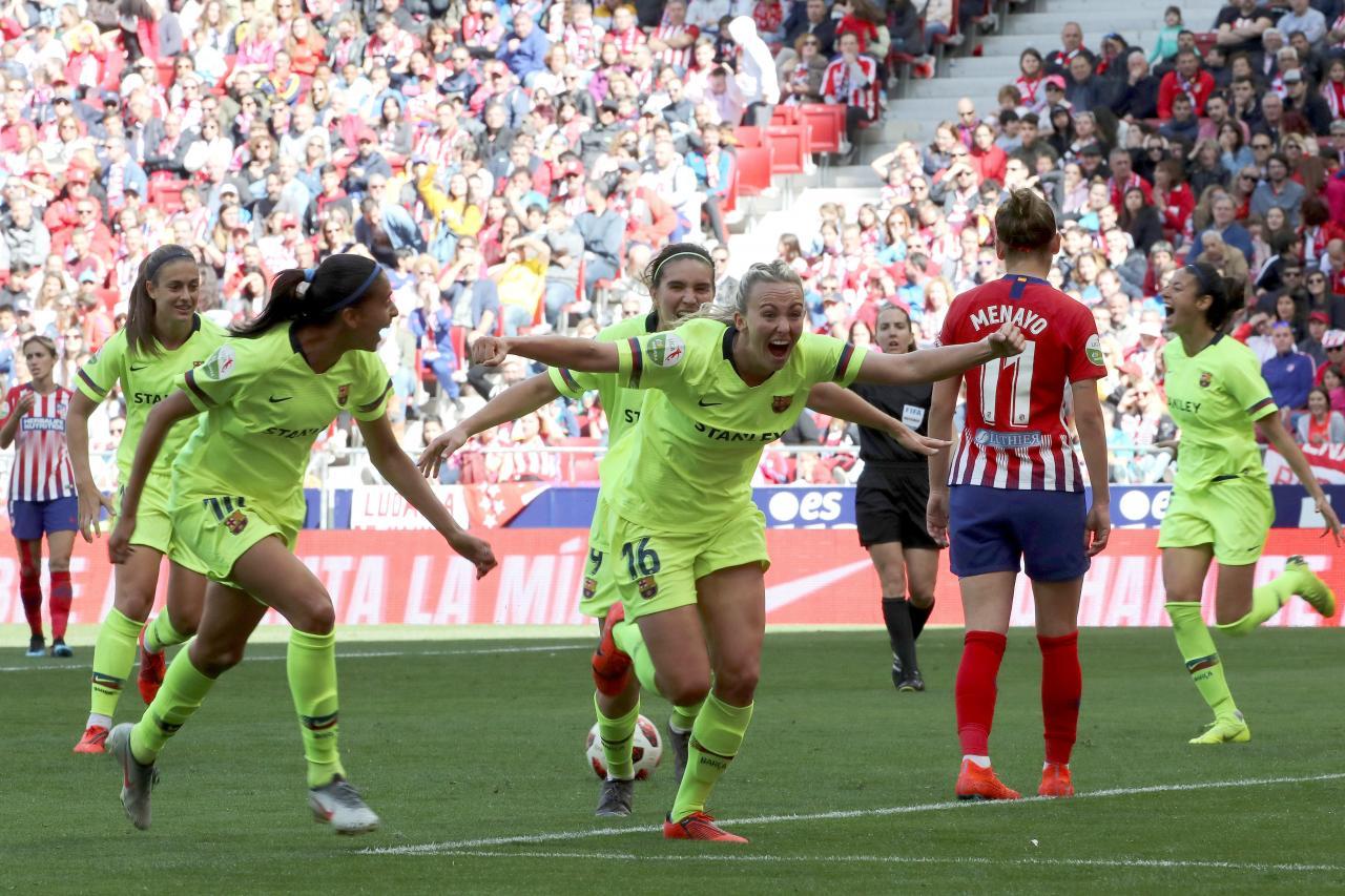 Resultado de imagen de atletico madrid barcelona femenino