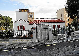 Casa de la calle Gavines de Paguera donde residía el ultraderechista alemán