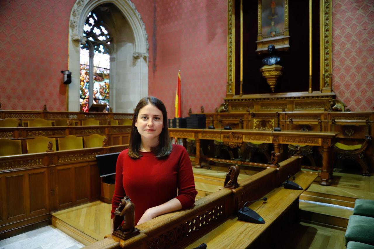 Aurora Ribot, candidata de Podemos
