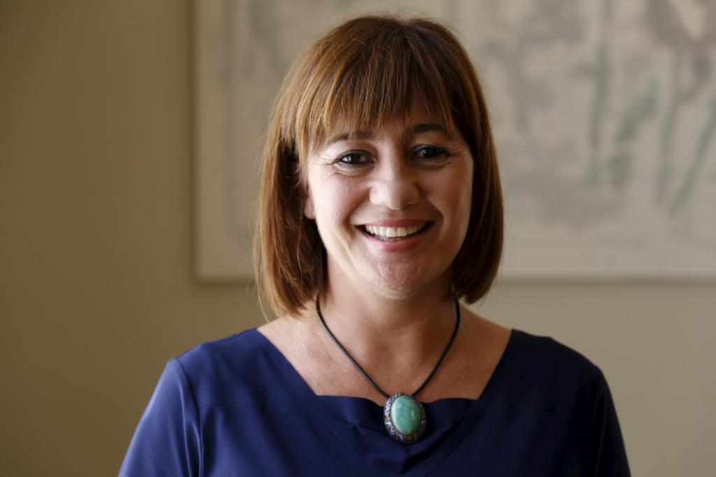 Francina Armengol, candidata del PSIB-PSOE