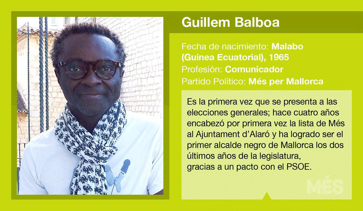 Guillem Balboa, candidato de Més