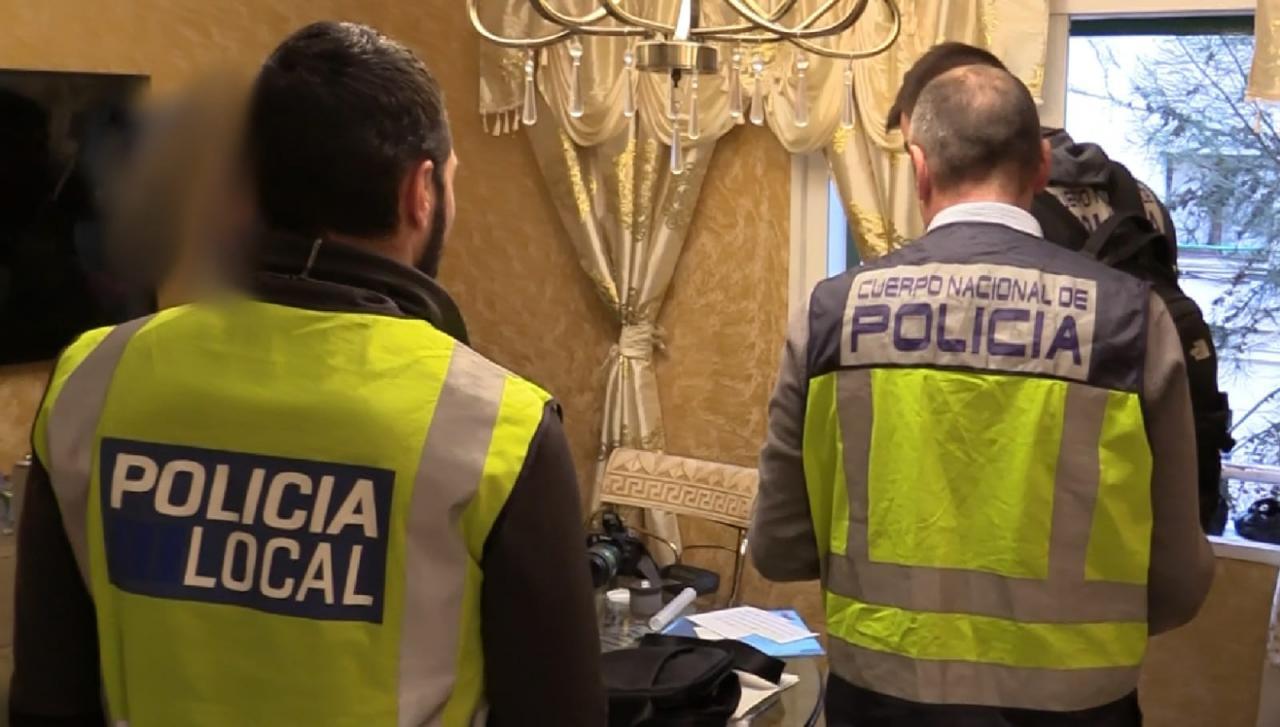 Redada contra la droga en Palma