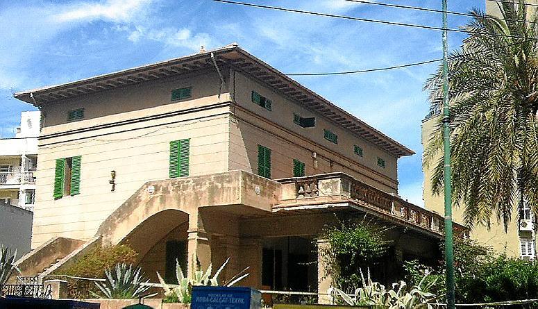PALMA. Patrimonio. ARCA denunció ayer la demolición de Can Baró