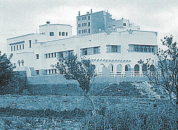 El primer edificio que ocupó la clínica Rotger en Palma. LA CLINICA ROTGER CUMPLE 54 AÑOS