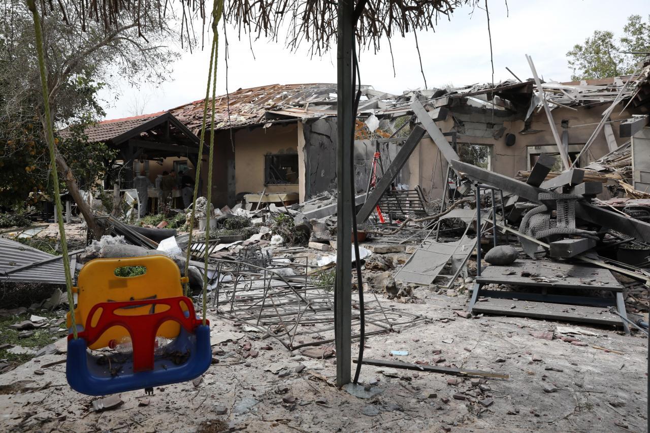 Un cohete lanzado desde Gaza deja 7 heridos al impactar en una casa en Israel