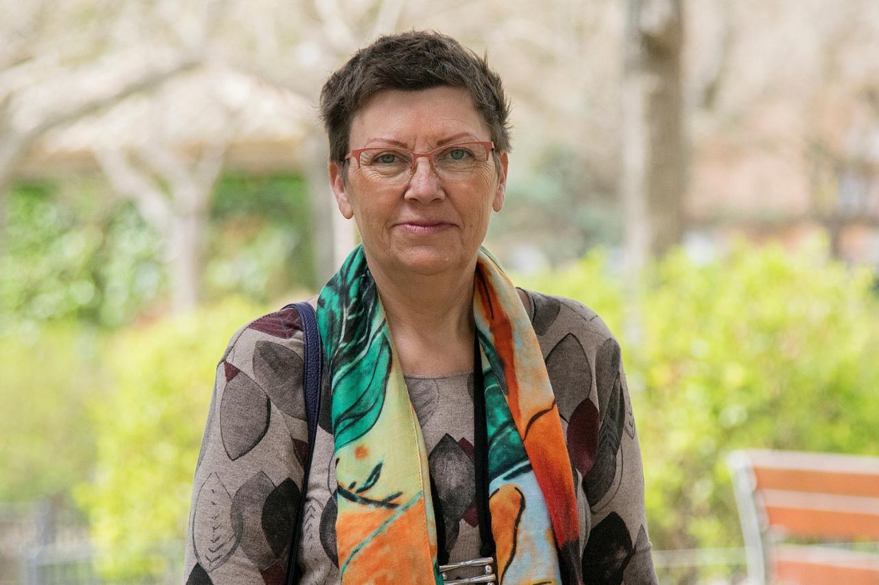 Antònia Jover, candidata de Unidas Podemos