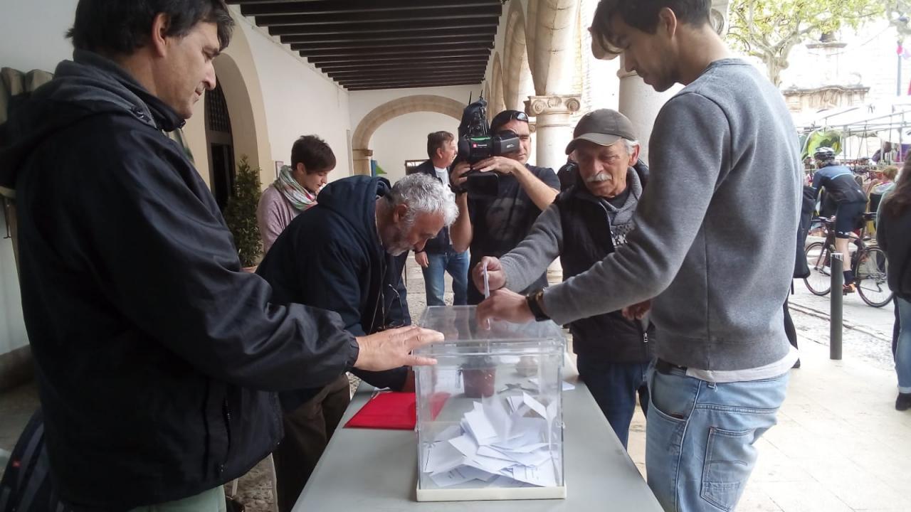 En Alaró también se ha votado la consulta popular
