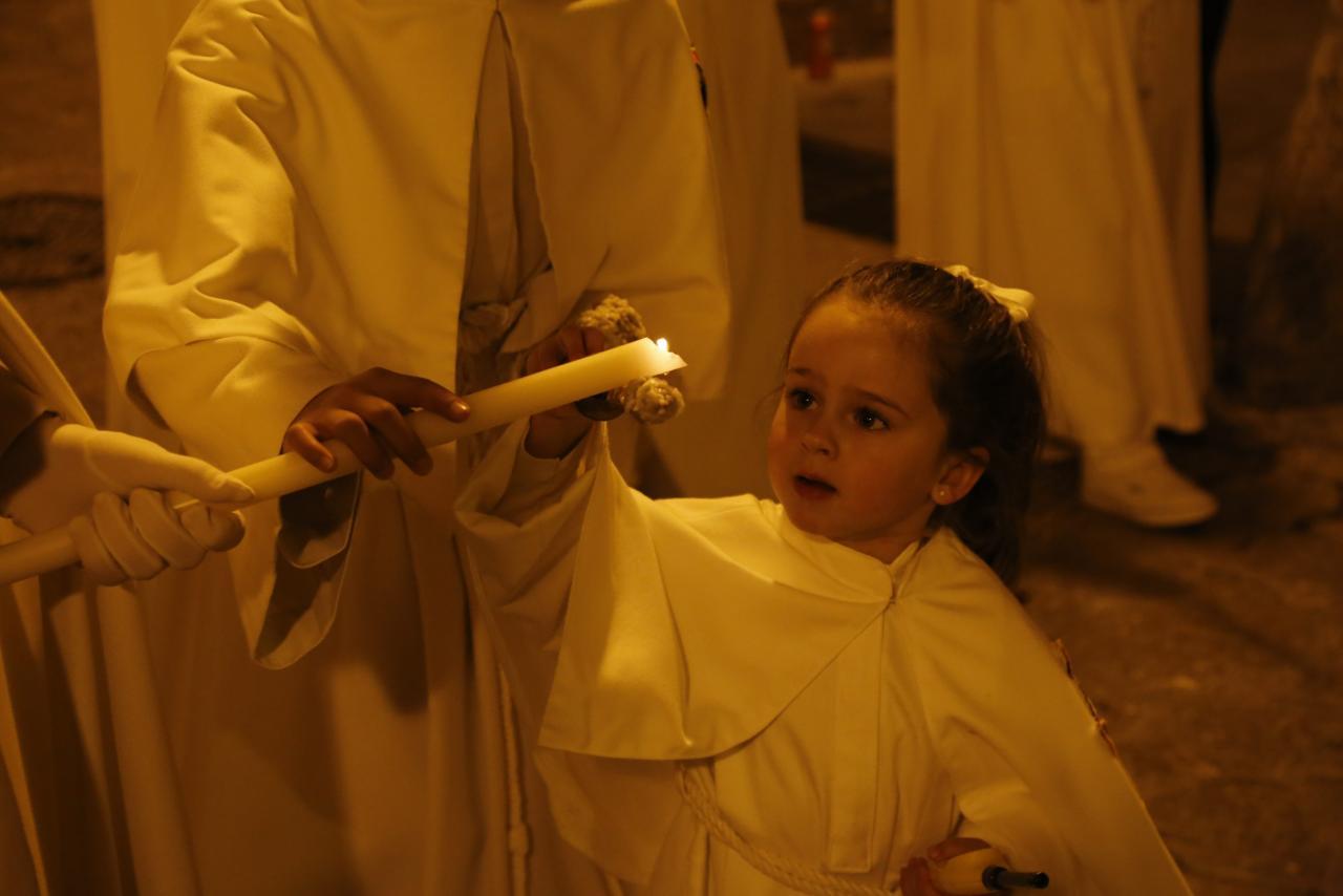 PALMA - SEMANA SANTA - PROCESION DEL SANT CRIST EN LA IGLESIA DE SAN JUAN.