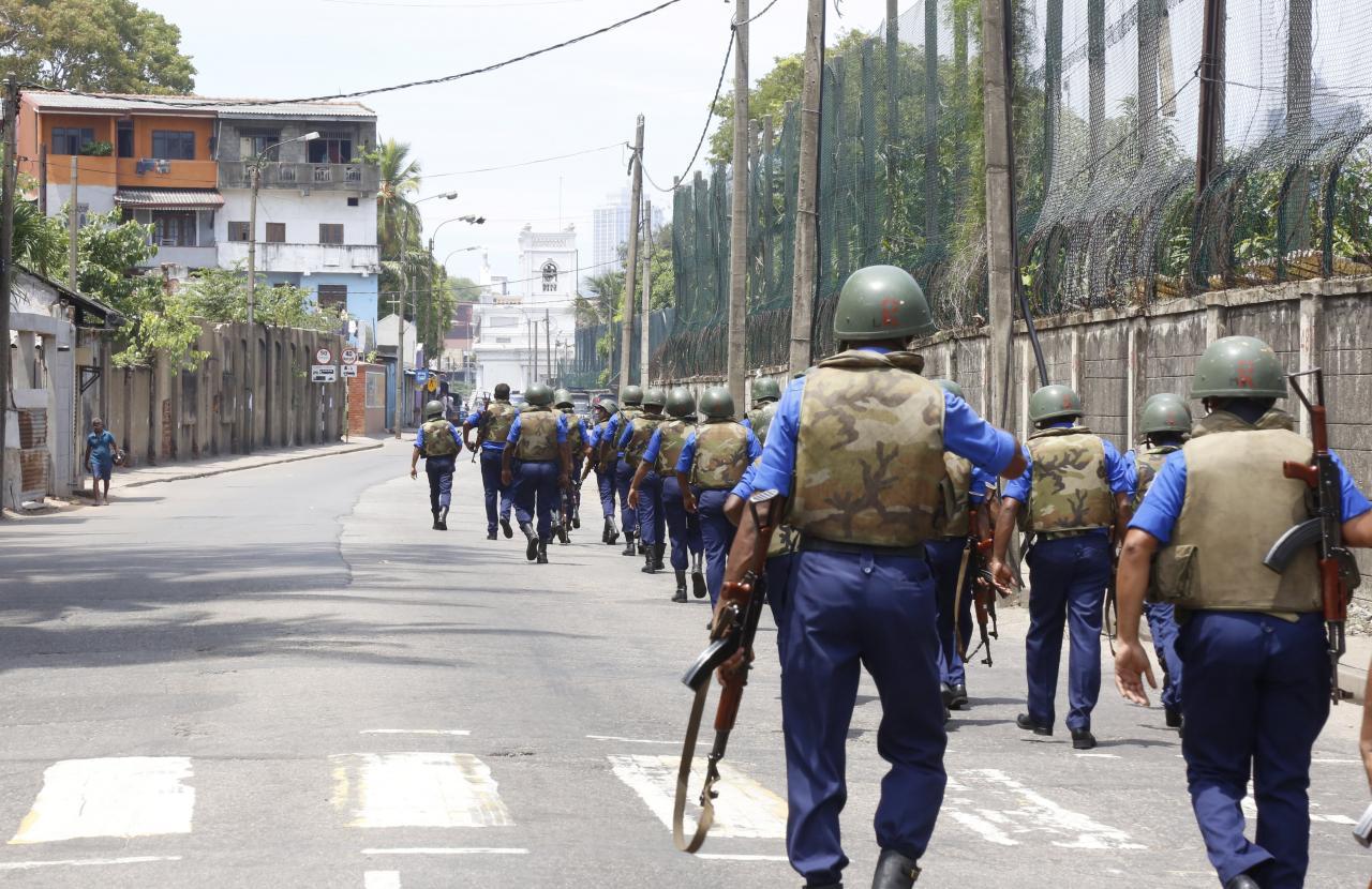 Al menos 207 muertos y 469 heridos en varias explosiones en iglesias y hoteles de Sri Lanka