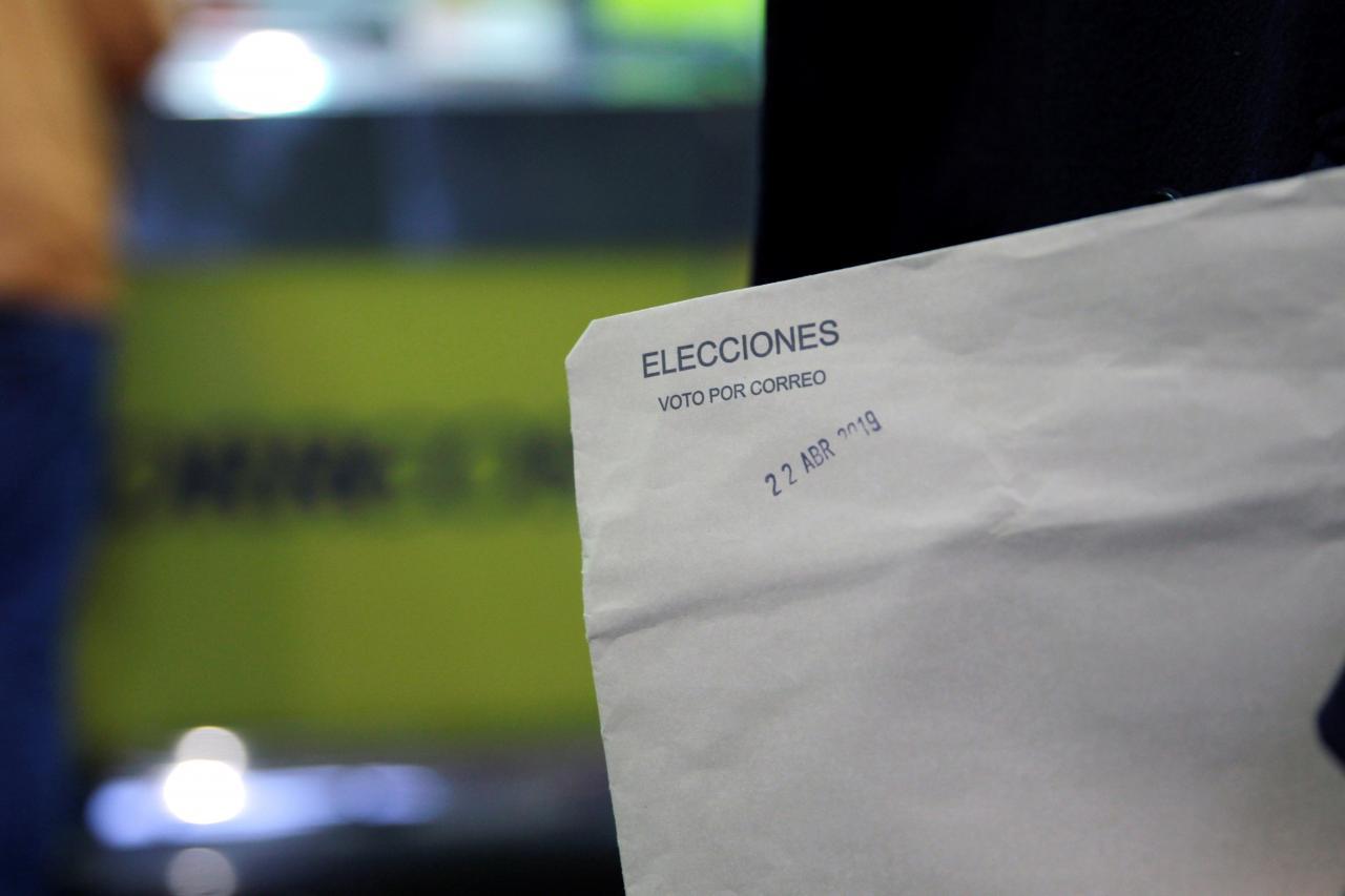 Ampliación del voto por correo al 25 de abril