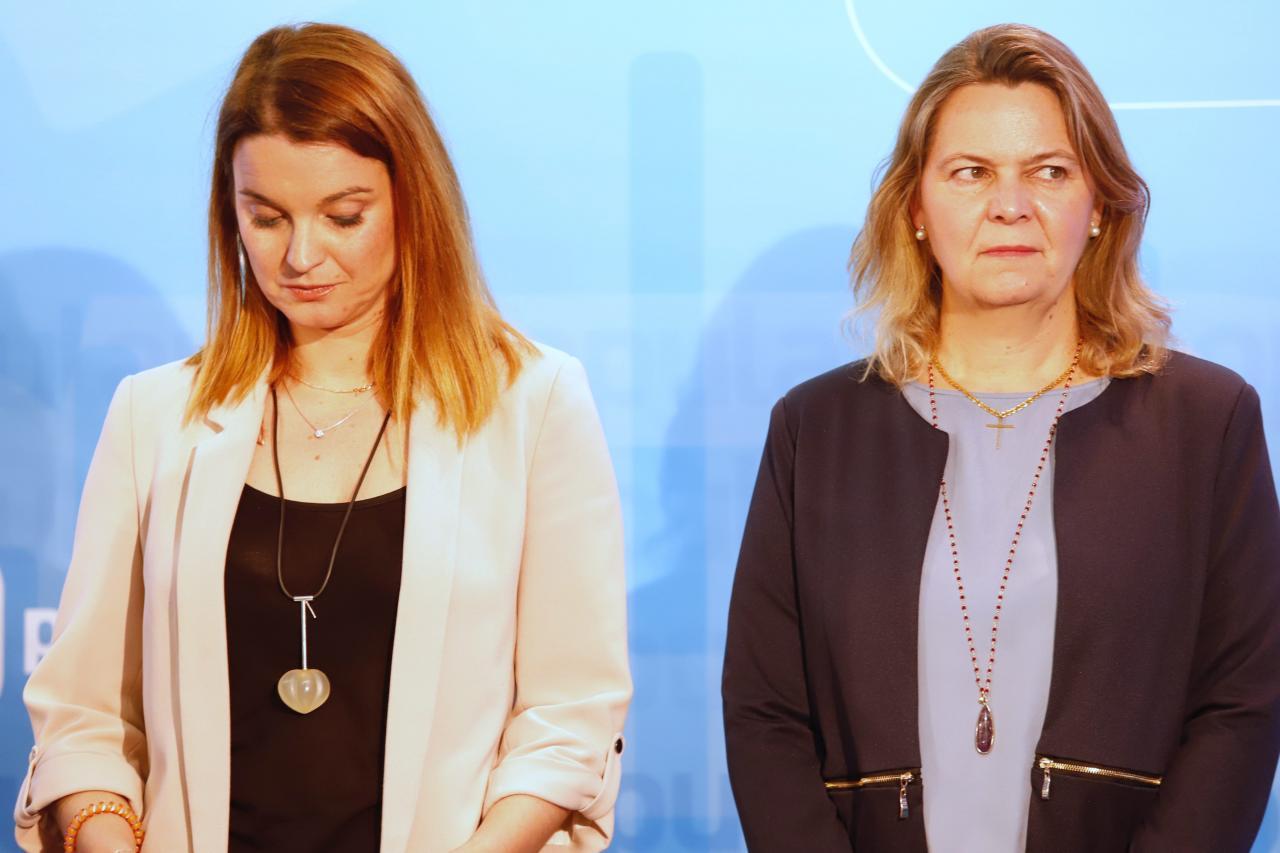 Margalida Prohens y María Salom