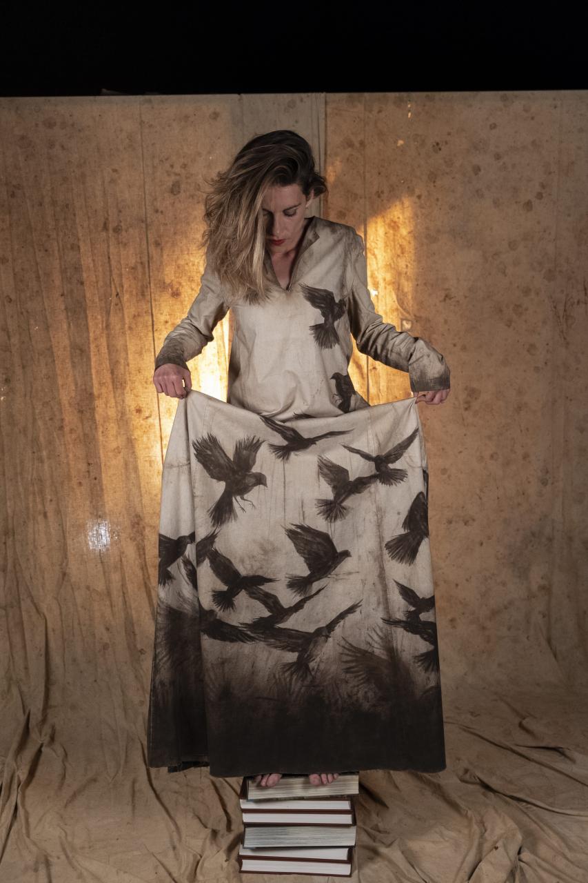 El vestido diseñado por Miquel Adrover