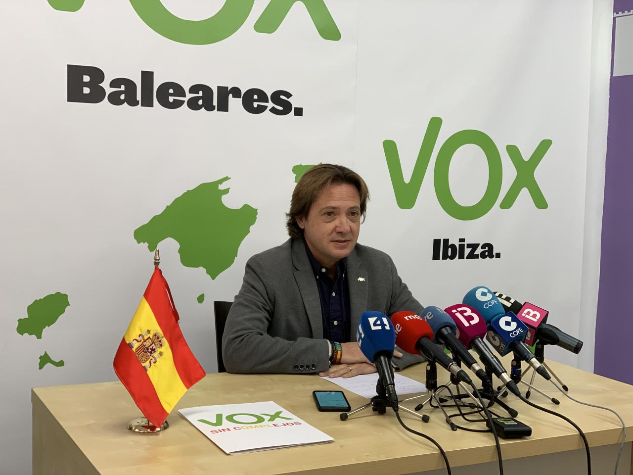 Jorge Campos, candidatos de Vox Baleares