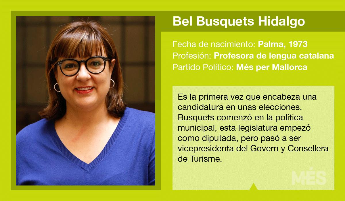 Bel Busquets, candidata de Més al Consell de Mallorca