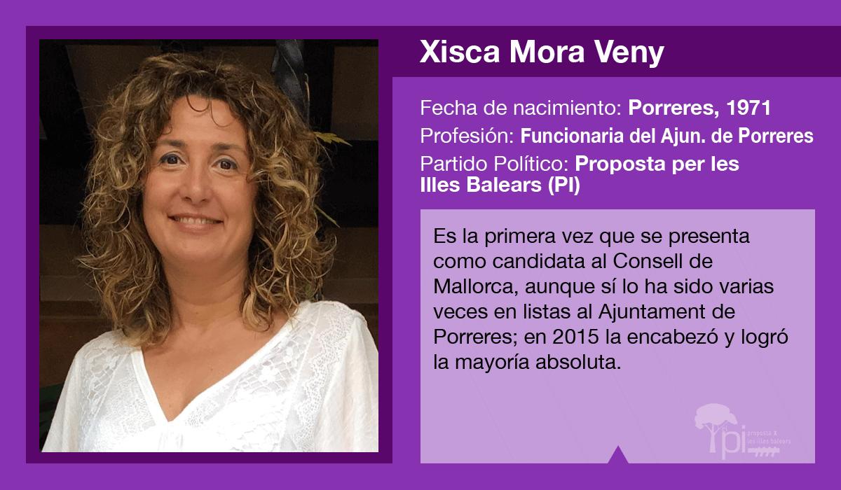 Xisca Mora es la candidata del PI al Consell de Mallorca