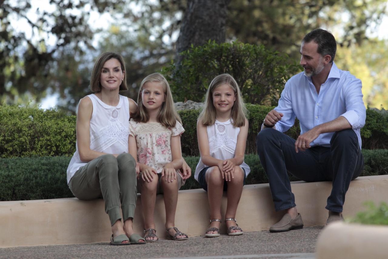 PALMA. MONARQUIA. VACACIONES DE VERANO DE LA FAMILIA REAL EN MALLORCA.