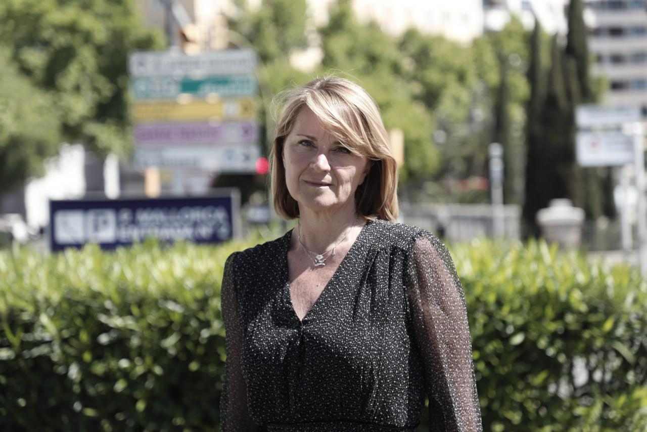 ROSA ESTARAS, CANDIDATA DEL PARTIDO POPULAR (PP), AL PARLAMENTO EUROPEO.
