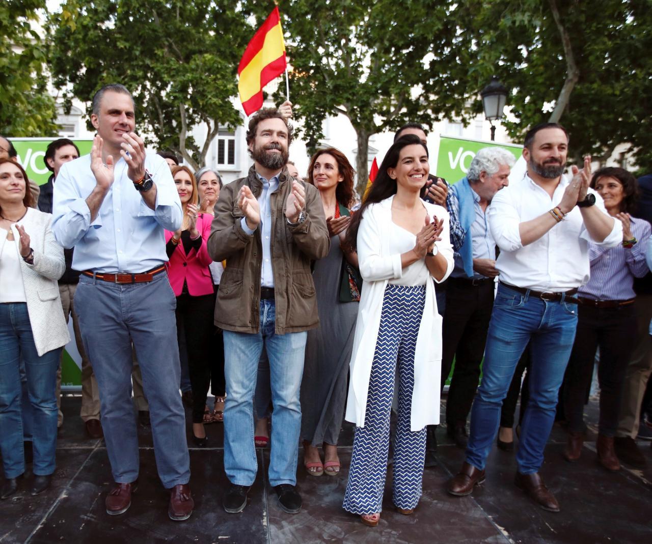 Cierre de campaña de Vox en Madrid