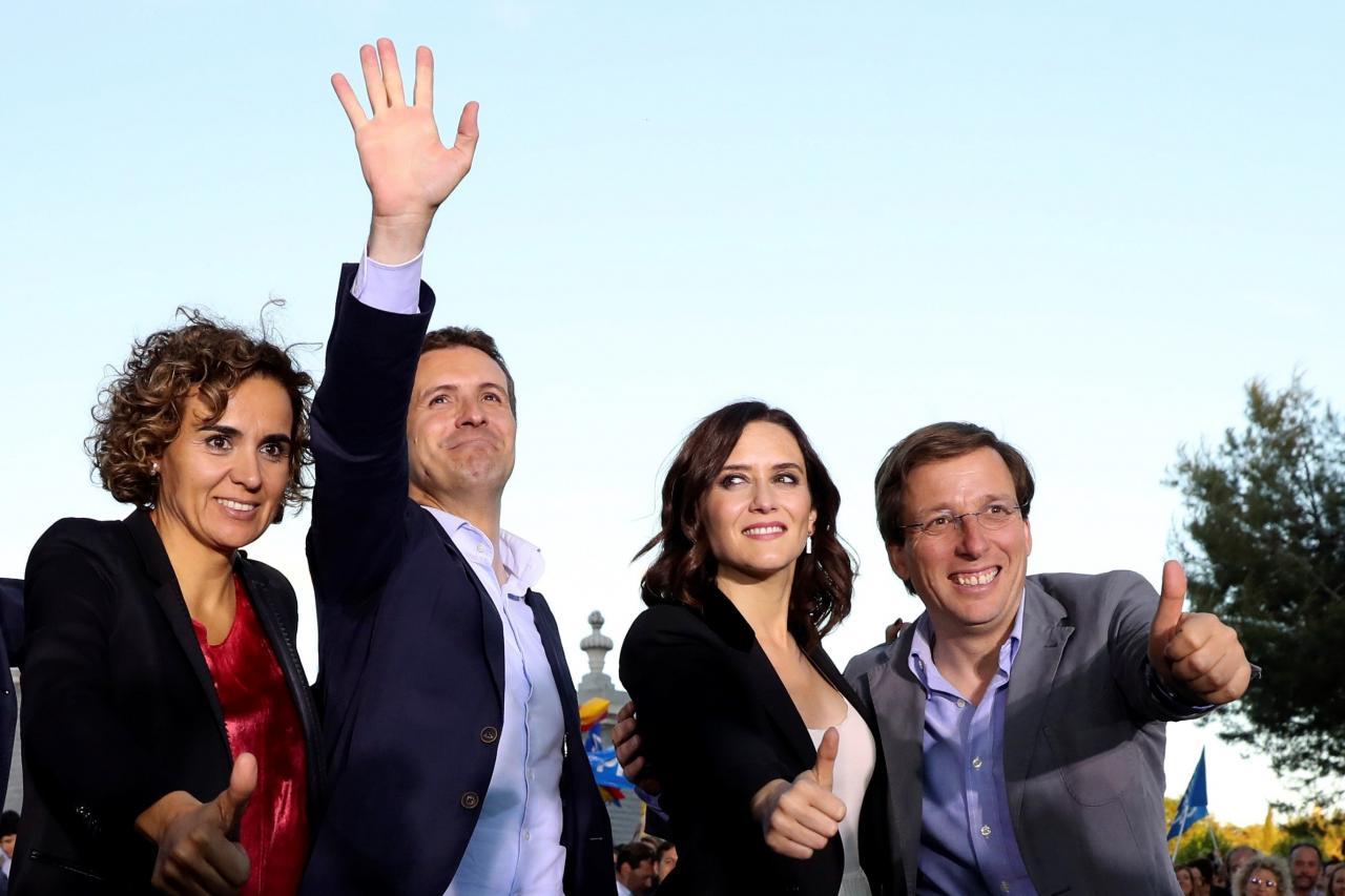 Cierre de campaña del PP en Madrid