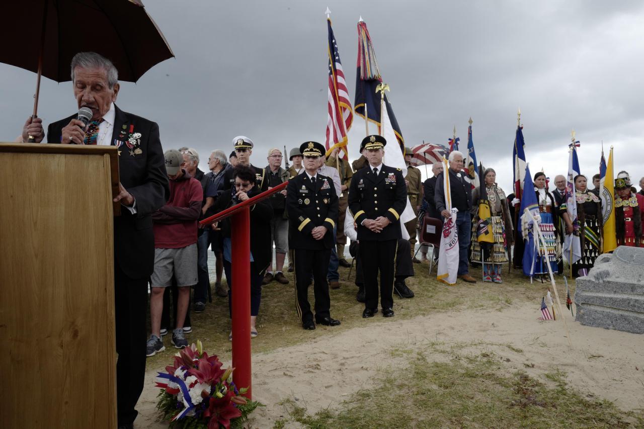 Conmemoración del 75º aniversario del desembarco de Normandía
