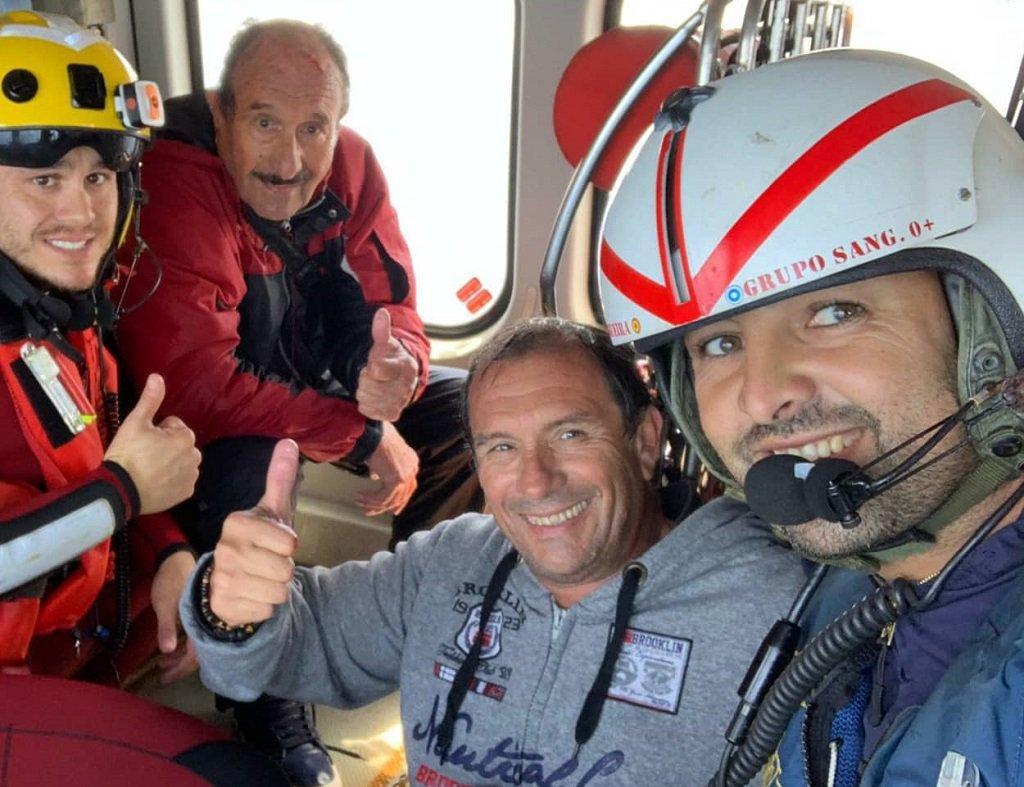 Rescatados los tripulantes de un velero en Mallorca