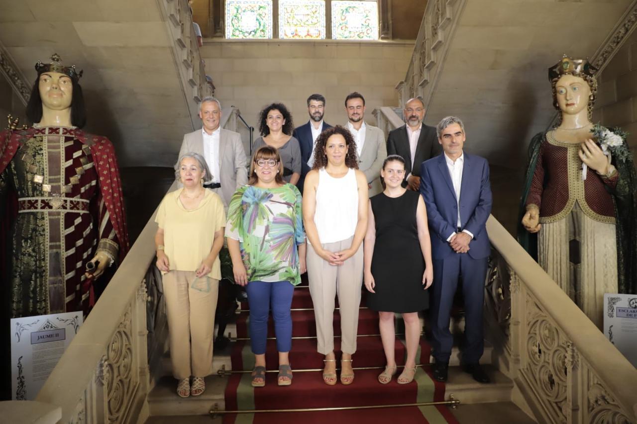 Foto de familia del nuevo equipo de gobierno del Consell de Mallorca