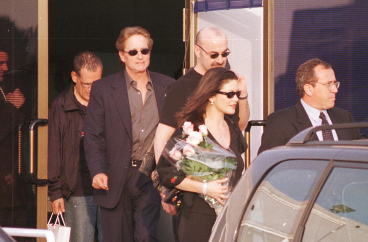 Michael Douglas y Catherine Zeta-Jones, en Mallorca