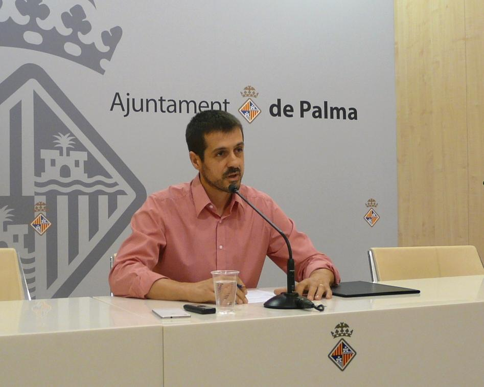 PALMA. POLITICA MUNICIPAL. ADRIAN GARCIA, TENIENTE DE ALCALDE DE ECONOMIA Y HACIENDA EN CORT.