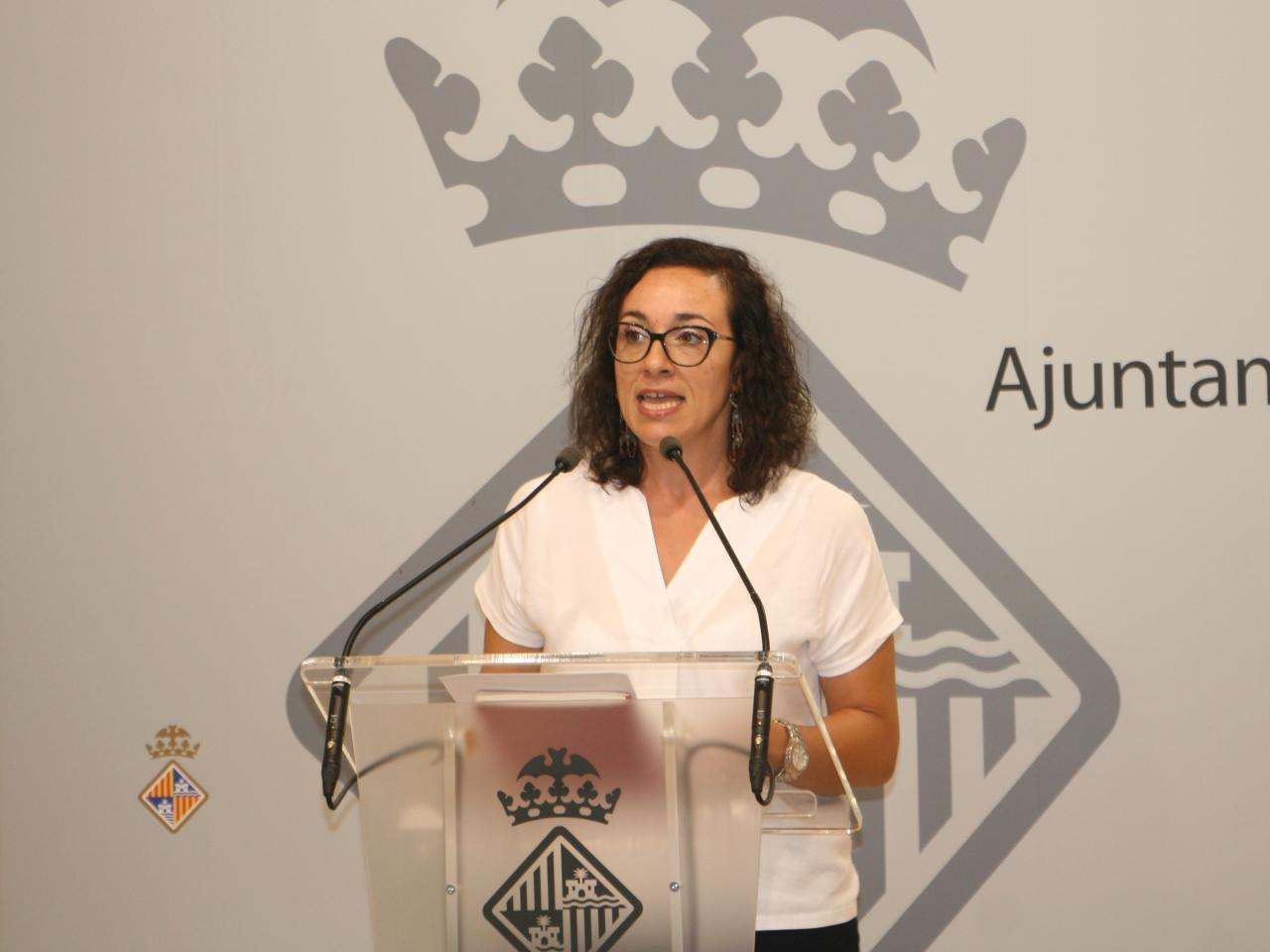 PALMA. POLITICA MUNICIPAL. Joana Adrover, edil de Comerç.