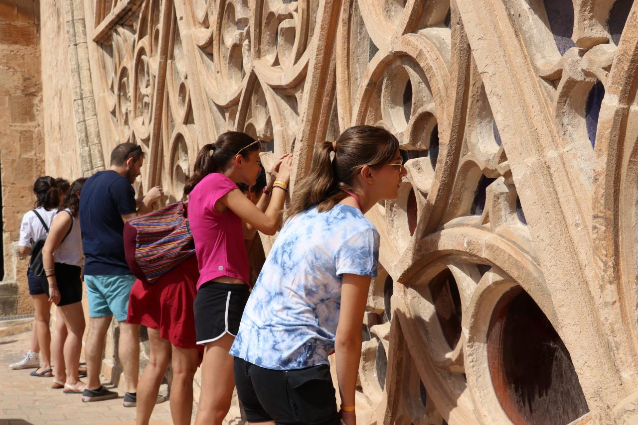 PALMA. CATEDRALES. La visita a las terrazas de la Catedral de Mallorca es una atractiva actividad