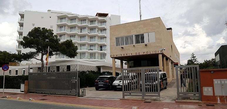 EL ARENAL - COMISARIA DE LA POLICIA NACIONAL EN LA PLATJA DE PALMA.