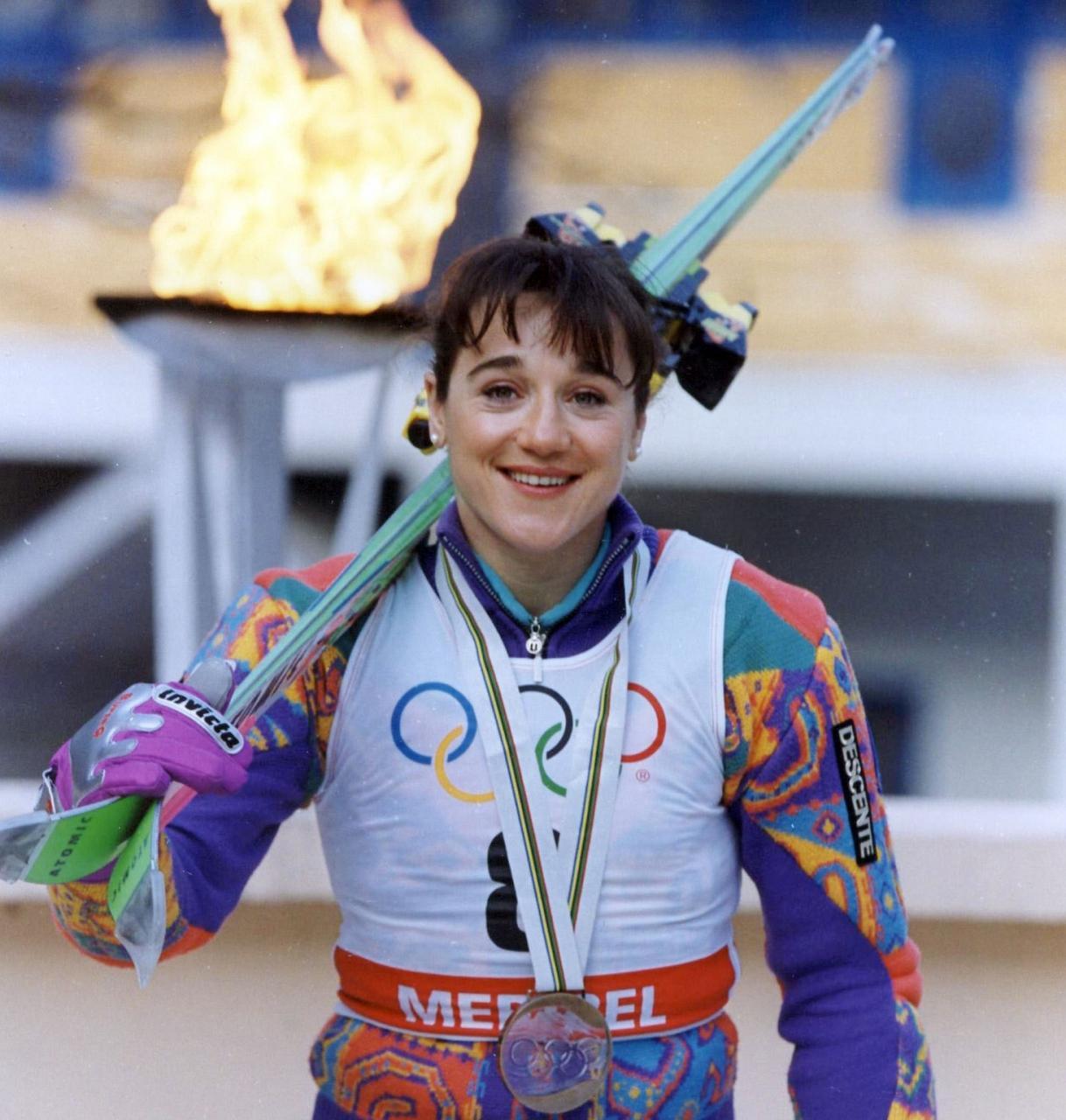 Resultado de imagen de Blanca Fernández Ochoa: la primera española que ganó una medalla olímpica