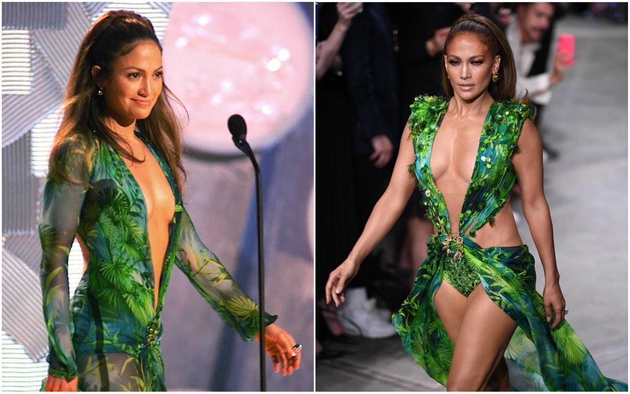 Jennifer López Deslumbrante Con El Mismo Vestido Que Se