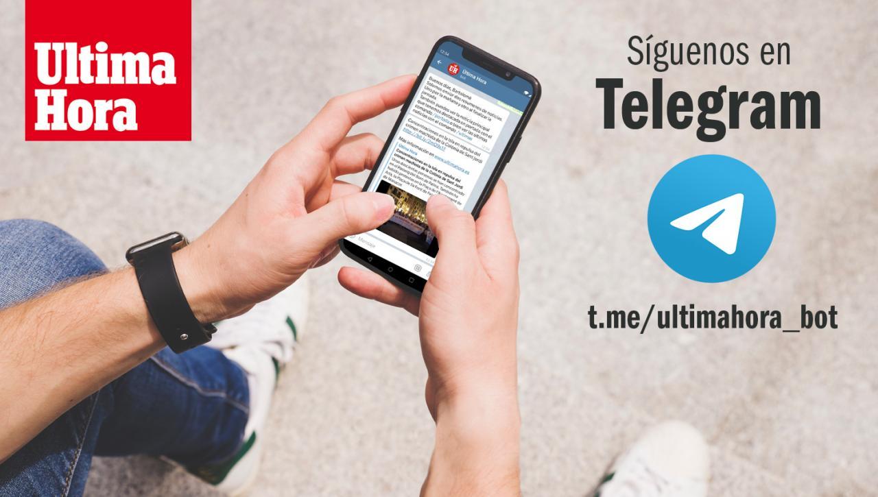 Pasos a seguir para darte de alta en las alertas de ULTIMA HORA en Telegram.