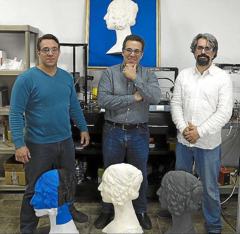 Cristóbal Mora, Åke Mora y Chemi Morales