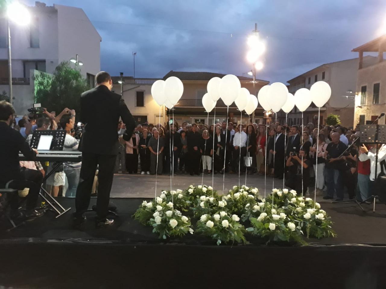 Homenaje a las víctimas de las inundaciones del Llevant.