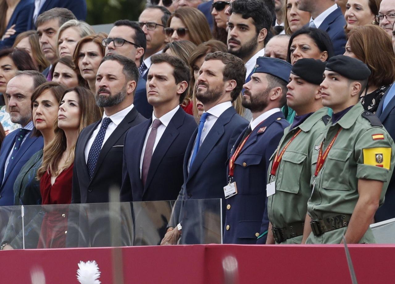 Desfile de la Fiesta Nacional en Madrid