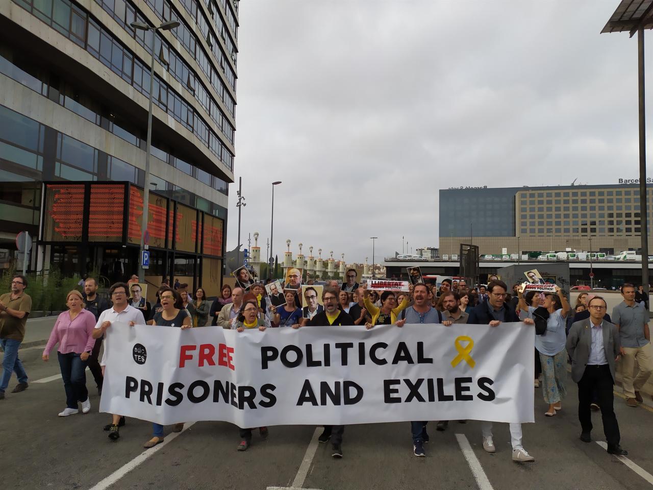 Manifestación sentencia del procés