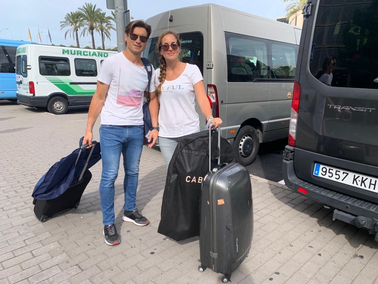 Los primeros invitados a la boda de Rafa Nadal llegan a Mallorca