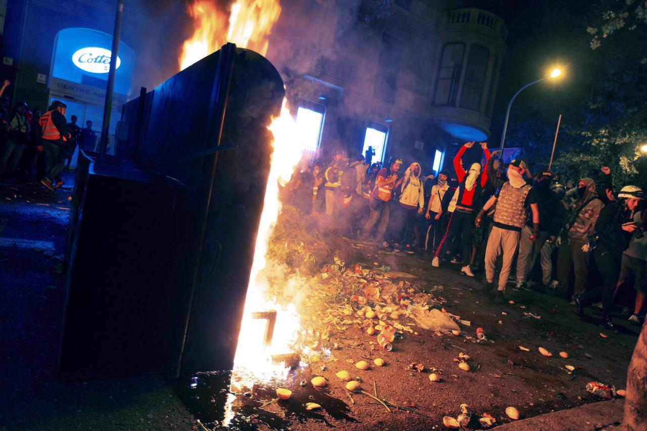 Concentración de protesta de CDR