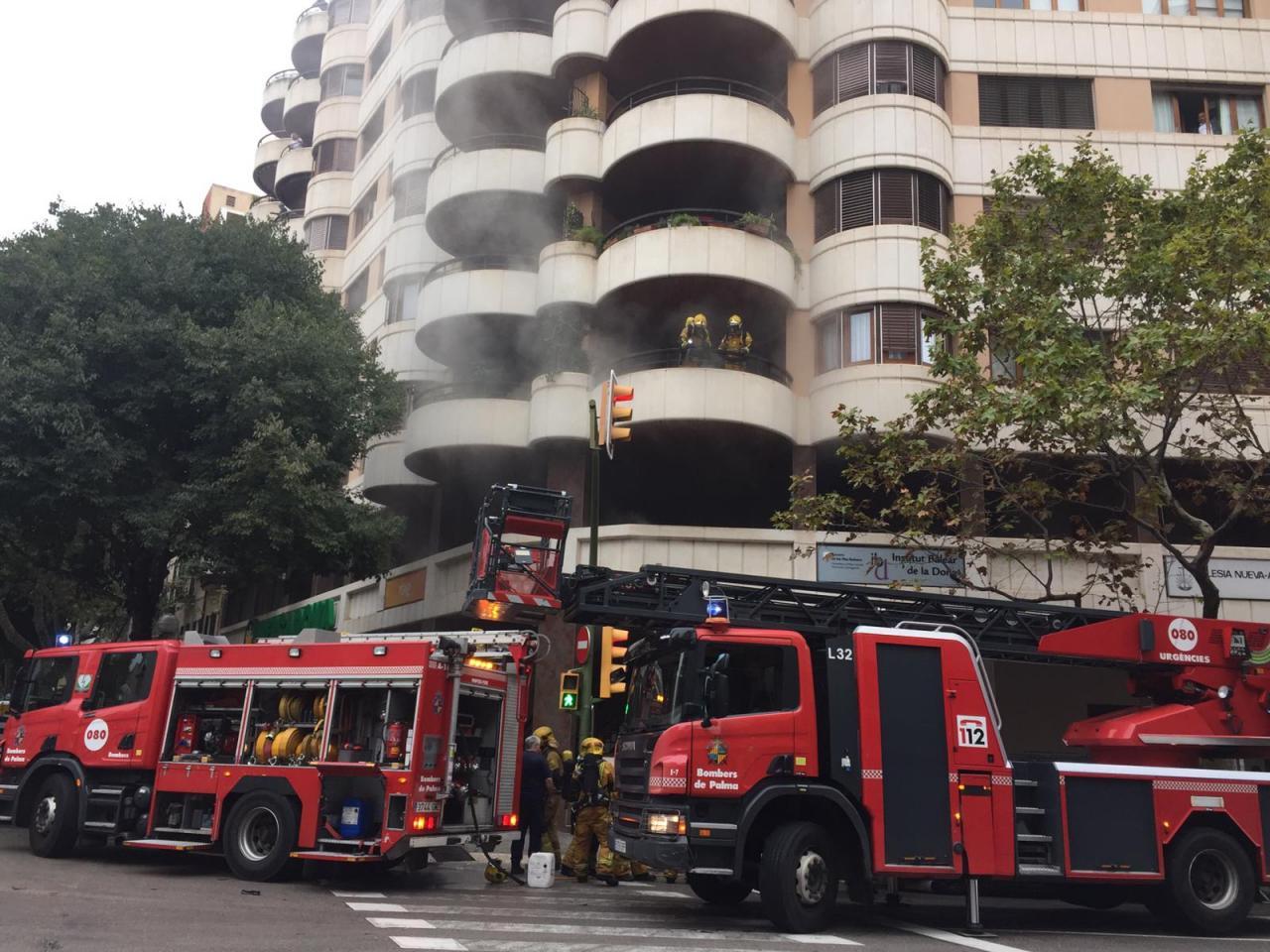 Incendio edificio Miret