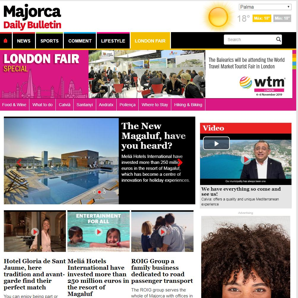 Majorca Daily Bulletin - World Travel Market
