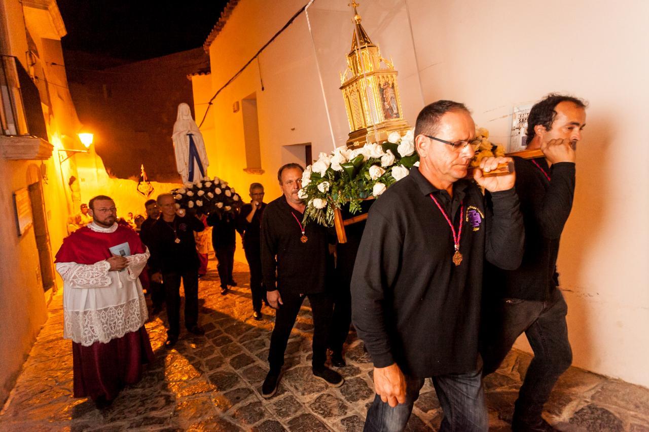 IBIZA - Las reliquias de Santa Bernadette Soubirous estarán hasta el domingo en Ibiza.