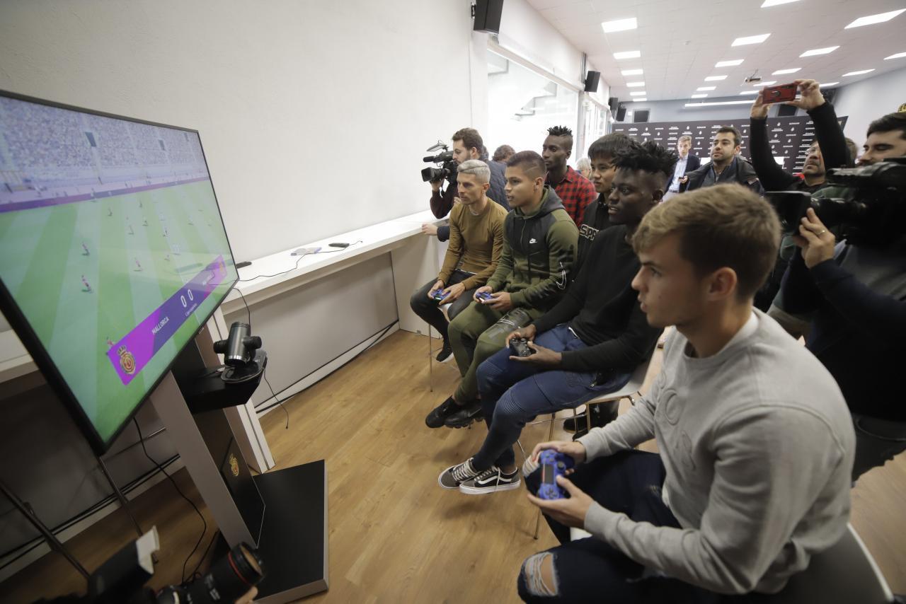 El Mallorca y los videojuegos