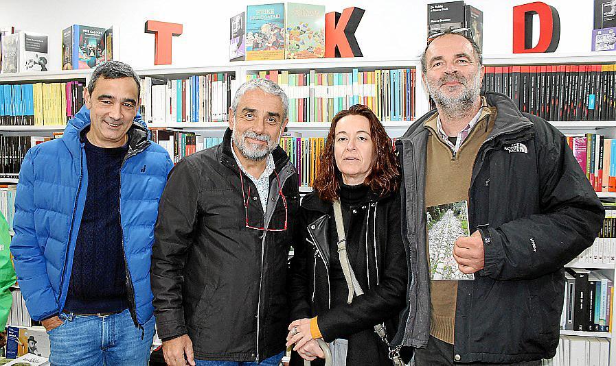 Tomás Vibot presenta un nuevo libro de rutas por Mallorca