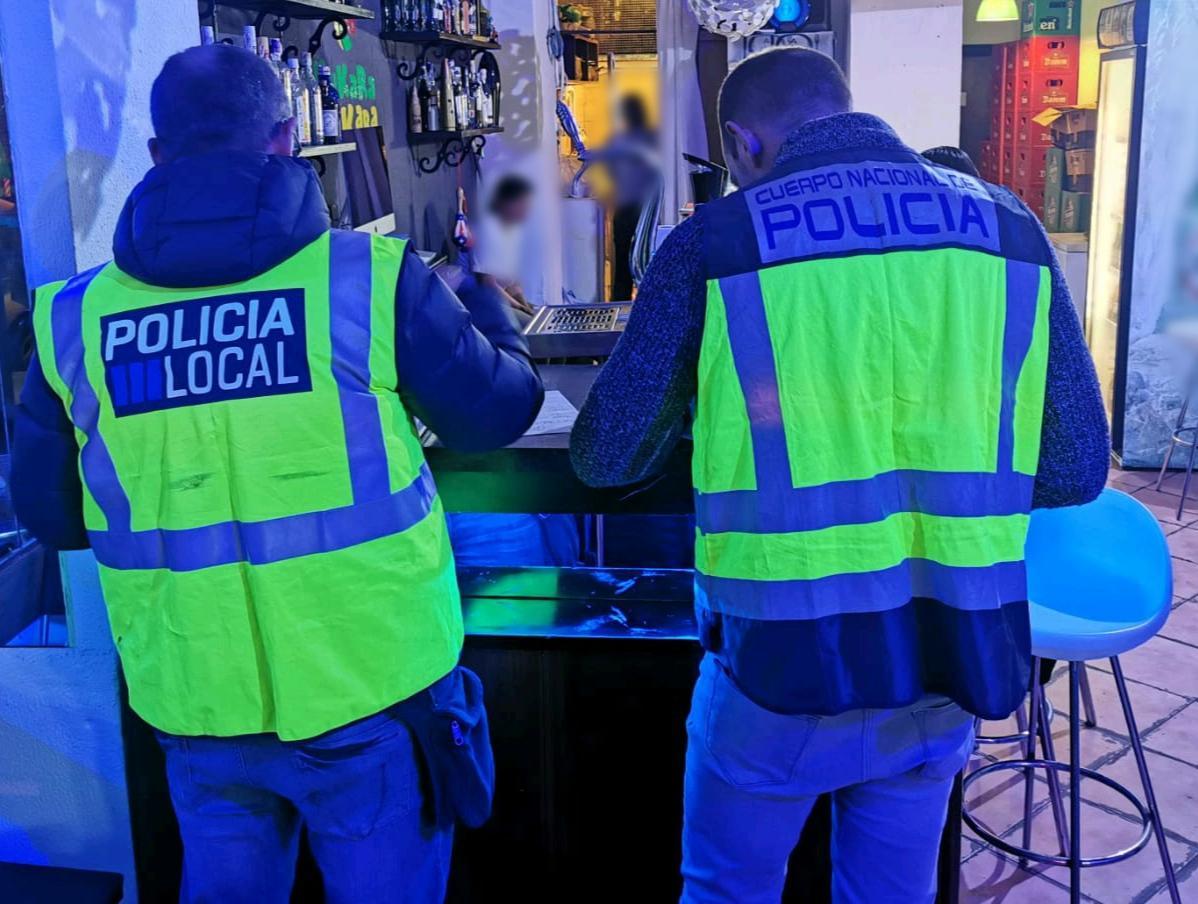 6 detenidos por drogas en 9 inspecciones de bares de Palma en navidades