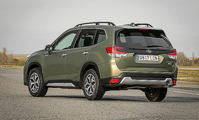 El nuevo Subaru Foreter Eco-Hybrid, un modelo híbrido con ADN 100 % Subaru