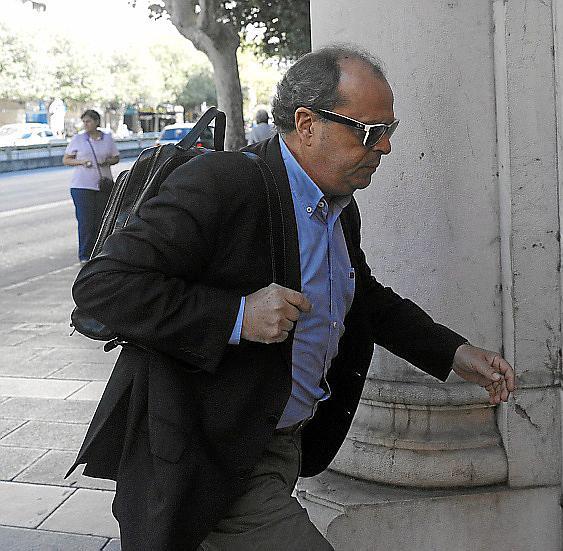 TONI SUAREZ , INSPECTOR DE POLICIA DECLARA EN EL JUZGADO POR LAS ACUSACIONES DEL ICO Y LA GUAPI.