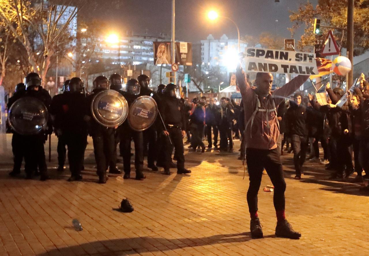 INCIDENTES PROTESTA